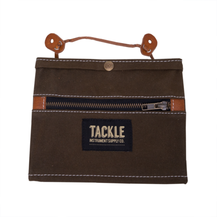 Tackle Instrument Supply Brown Waxed Canvas Gig Pouch picture