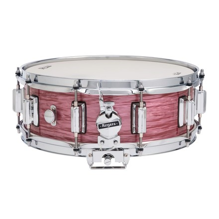 """Rogers Dyna-Sonic 5"""" x 14"""" Classic Snare Drum with Beavertail Lugs - Red Ripple picture"""