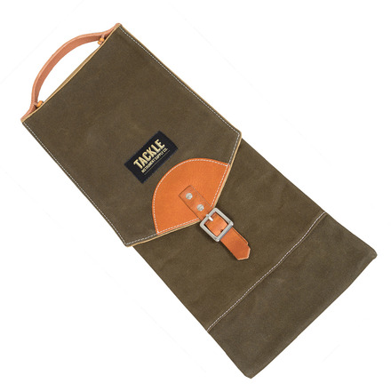 Tackle Instrument Supply Forest Green Waxed Canvas Compact Stick Bag picture