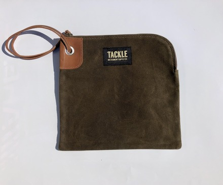 Tackle Instrument Supply Forest Green Zippered Accessory Bag picture