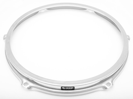 """S-Hoop 13"""" 6 Hole Chrome Drum Hoop picture"""