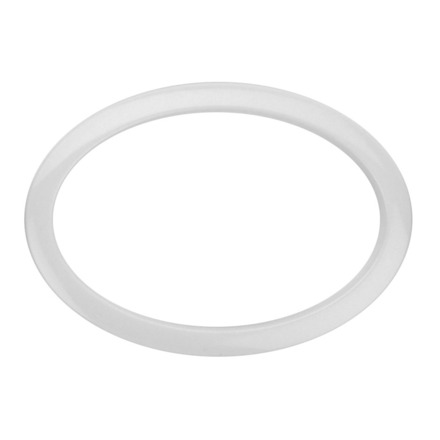 """Bass Drum O's 6"""" White Oval Drum O picture"""