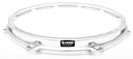 """S-Hoop 14"""" 10 Hole Chrome Drum Hoop picture"""