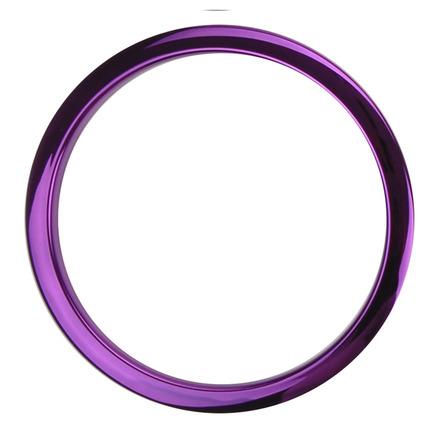 "Bass Drum O's 6"" Purple Chrome Drum O picture"