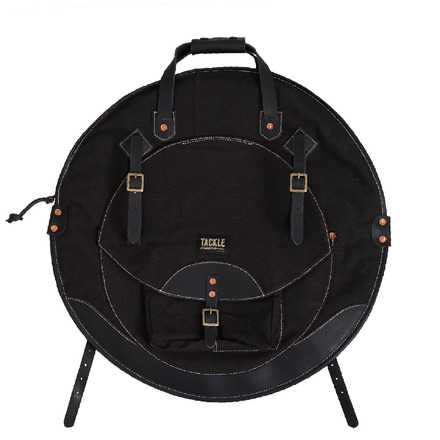 """Tackle Instrument Supply Black Canvas Cymbal Bag 22"""" picture"""