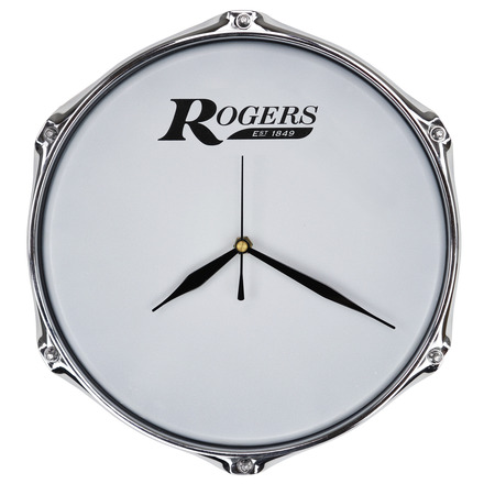 """Rogers 10"""" Drum Clock with Wall Mount picture"""