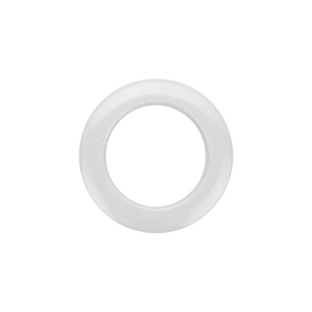 """Bass Drum O's 2"""" White Drum O's (2 Pack) picture"""