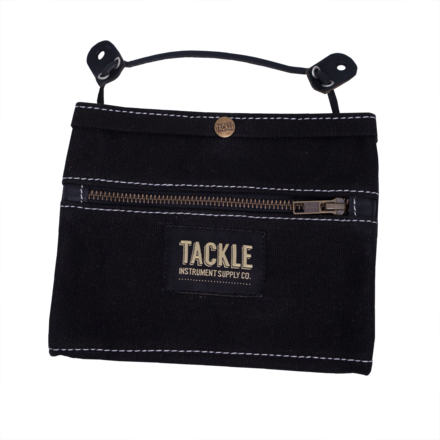 Tackle Instrument Supply Black Waxed Canvas Gig Pouch picture
