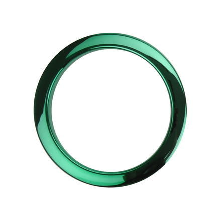 """Bass Drum O's 4"""" Green Chrome Drum O picture"""