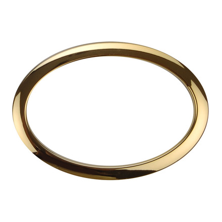 """Bass Drum O's 6"""" Brass Oval Drum O picture"""