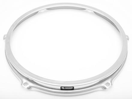 """S-Hoop 10"""" 6 Hole Chrome Drum Hoop picture"""