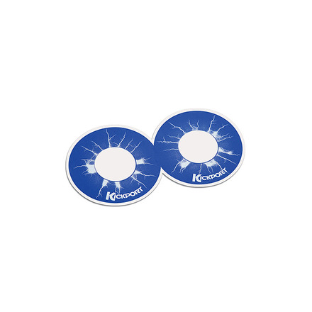 KickPort D-Pad White Bass Drum Impact Pad picture