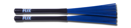 Flix Jazz Fibre Brushes - Dark Blue picture