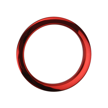 """Bass Drum O's 4"""" Red Chrome Drum O picture"""