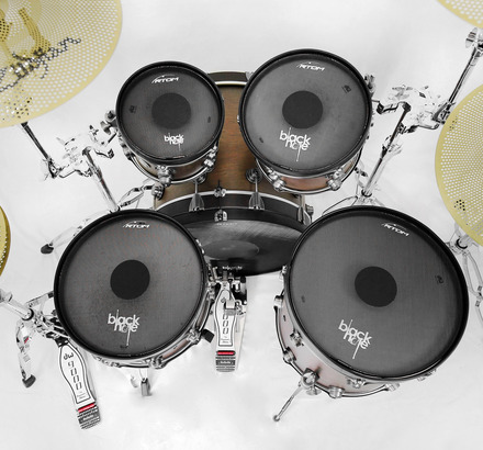 """RTOM Black Hole Practice Pad Combo Pack - 10"""", 12"""", 14"""", 16"""", 22"""" picture"""