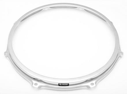 """S-Hoop 14"""" 8 Hole Chrome Drum Hoop picture"""