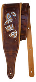 Minotaur Padded Leather Steampunk Timekeeper Strap - Brown