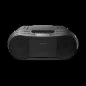 CD/Cassette Boom Box with Radio