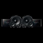 16 cm (6 ½ in) 3-way Component Speakers
