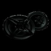 16 x 24 cm (6.30 x 9.45 in) 4-way speakers