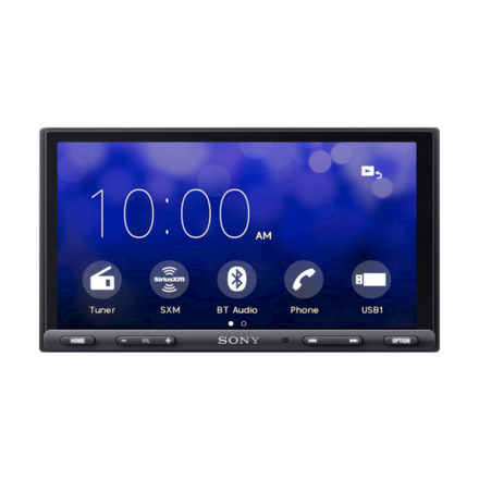 17.6-cm (6.95-in) Media Receiver with BLUETOOTH® picture