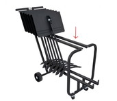 PLASTIC TOP RAIL COVER FOR 1920 SHORT STAND CART