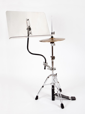 Drummer Hi Hat Stand w/Clear Desk picture