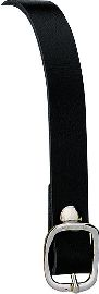 BLACK LEATHER SPUR STRAP picture