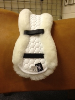 /DRESSAGE SS GIRTH PAD WHT 55 picture