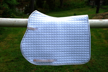 MAX SADDLE PAD JUMPING/AP, PIPING, White-05 picture