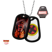 Wolverin Logo Double Dog Tag