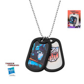 Transformer Autobot Optimus Prime Double Dog Tag Pendant