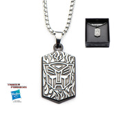 Transformers Base Metal Autobot Pendant with Chain