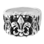 Silver Fleur De Lis Ring