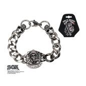 Grim Reaper Stainless Steel Bracelet