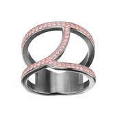 Pink Precious Crystal Ring