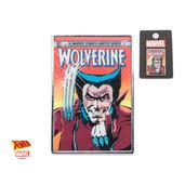 Marvel Base Metal Wolverine Comic Lapel Pin