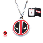 Stainless Steel Deadpool Small Pendant with Chain