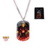 Iron Man Pendant with Chain