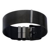 Black IP Mesh Bracelet Belt-Like Like Opening Technique