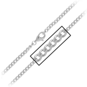 3.5mm Flat Curb Chain