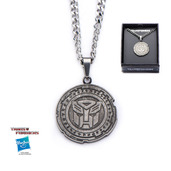 Transformers The Last Knight  Autobot Circle Antique  Pendant with Chain
