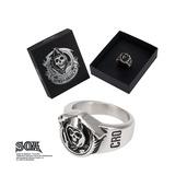 Grim Reaper Stainless Steel Ring
