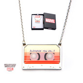 Marvel Awesome Mix Vol. 1 Tape Pendant with Chain