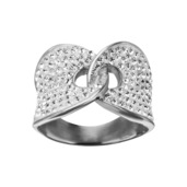 Interlocking Gems Ring