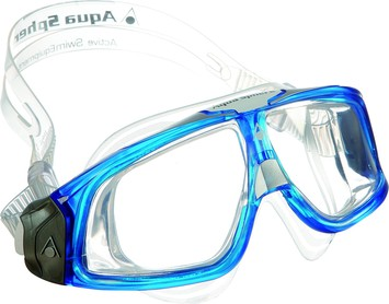 Seal 2.0™ - Clear Lens - Blue Frame picture