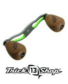 Trickshop Gunsmoke/Lime Handle Assembly