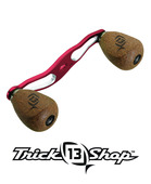 Trickshop Red/Silver Handle Assembly