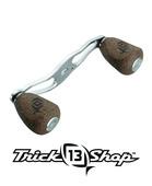 Trickshop Silver Handle Knob Caps