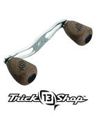 Trickshop Matte Black Handle Knob Caps